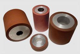 rulli in gomma siliconica - studioplast